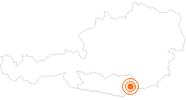 Tourist Attraction Saint Paul's Abbey Lavanttal in the Lavanttal: Position on map