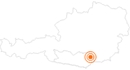 Tourist Attraction Museum in the Lavanthaus in the Lavanttal: Position on map