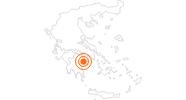 Tourist Attraction Epidauros in Argolis: Position on map