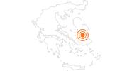 Tourist Attraction Nea Moni Monastery on Chios: Position on map