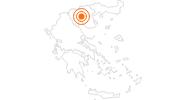 Ausflugsziel Weißer Turm von Thessaloniki in Thessaloniki: Position auf der Karte