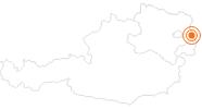 Ausflugsziel Schloss Hof im Marchfeld in Donau Niederösterreich: Position auf der Karte
