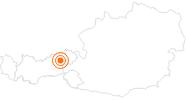 Ausflugsziel Thierbach in der Wildschönau in Wildschönau: Position auf der Karte