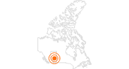Tourist Attraction Art Gallery of Alberta in Edmonton: Position on map