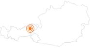 Ausflugsziel Bergbauernmuseum z'Bach in Wildschönau: Position auf der Karte