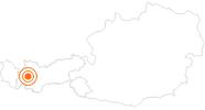 Ausflugsziel Zammer Lochputz in Tirol West: Position auf der Karte