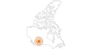 Ausflugsziel Old Strathcona in Edmonton: Position auf der Karte