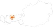 Ausflugsziel Die Grenzfeste Porta Claudia in Scharnitz in der Olympiaregion Seefeld: Position auf der Karte