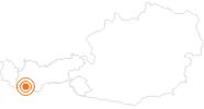 Ausflugsziel Schloss Naudersberg im Tiroler Oberland: Position auf der Karte