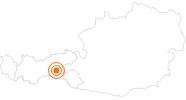 Ausflugsziel Die Teufelsbrücke in Finkenberg im Zillertal: Position auf der Karte