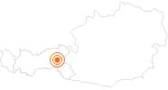 Ausflugsziel Sternwarte Königsleiten im Zillertal: Position auf der Karte