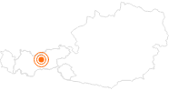 Tourist Attraction Alpenzoo Innsbruck – Tirol Innsbruck and its holiday villages: Position on map