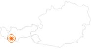 Ausflugsziel Festung Nauders im Tiroler Oberland: Position auf der Karte