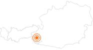 Ausflugsziel Nationalparkhaus Matrei in Osttirol in Osttirol: Position auf der Karte