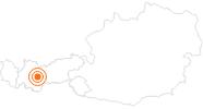 Tourist Attraction Ötzi Dorf Umhausen Ötztal: Position on map