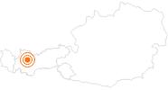 Ausflugsziel Brauerei und Schloss Starkenberg in Tarrenz in der Ferienregion Imst: Position auf der Karte