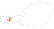 Ausflugsziel Turmmuseum Oetz Ötztal: Position auf der Karte