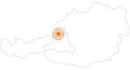 Ausflugsziel Salzburger Freilichtmuseum in Großgmain in Salzburg & Umgebungsorte: Position auf der Karte