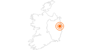 Tourist Attraction National Museum of Ireland in Dublin: Position on map