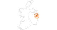 Tourist Attraction Guinness Storehouse in Dublin: Position on map