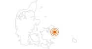 Ausflugsziel Die kleine Meerjungfrau Kopenhagen in Kopenhagen und Umgebung: Position auf der Karte
