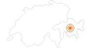 Ausflugsziel Parc Ela in Savognin Bivio Albula: Position auf der Karte