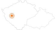 Ausflugsziel Brauerei Pilsen in der Pilsner Region: Position auf der Karte