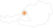 Ausflugsziel Mozarts Geburtshaus in Salzburg in Salzburg & Umgebungsorte: Position auf der Karte