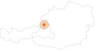Ausflugsziel Schloss Hellbrunn in Salzburg & Umgebungsorte: Position auf der Karte