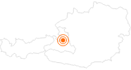 Ausflugsziel Eisriesenwelt Werfen in Tennengau-Dachstein West: Position auf der Karte