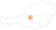 Ausflugsziel Dachstein Eispalast in Schladming-Dachstein: Position auf der Karte