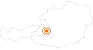 Ausflugsziel Schloss Höch bei Flachau in der Salzburger Sportwelt: Position auf der Karte