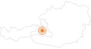 Ausflugsziel Mountain Cart am Hochkönig am Hochkönig: Position auf der Karte