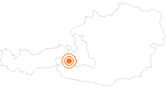 Ausflugsziel Kitzsteinhorn - Gipfelwelt 3000 in Zell am See - Kaprun: Position auf der Karte