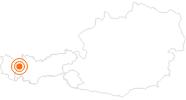 Ausflugsziel Holzgauer Hängebrücke im Lechtal: Position auf der Karte