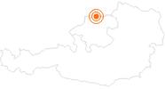 Ausflugsziel VILLA sinnenreich - Museum der Wahrnehmung im Böhmerwald: Position auf der Karte
