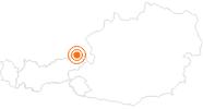 Ausflugsziel Wallfahrtskirche Maria Klobenstein im Kaiserwinkl: Position auf der Karte