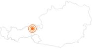 Ausflugsziel Aussichtsberg Hohe Salve in der Ferienregion Hohe Salve: Position auf der Karte