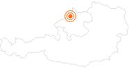 Ausflugsziel Baumkronenweg Kopfing S'Innviertel: Position auf der Karte