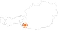 Ausflugsziel Römerstadt Aguntum in Osttirol: Position auf der Karte