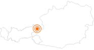 Ausflugsziel Familienland Pillersee im Pillerseetal: Position auf der Karte