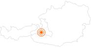 Ausflugsziel Rauriser Talmuseum in Nationalpark Hohe Tauern: Position auf der Karte