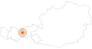 Ausflugsziel Audioversum Innsbruck Innsbruck & seine Feriendörfer: Position auf der Karte