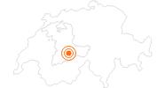 Ausflugsziel Pochtenfall bei Aeschi in Interlaken: Position auf der Karte
