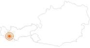 Ausflugsziel Skyfly Ischgl in Paznaun - Ischgl: Position auf der Karte