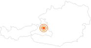 Ausflugsziel Burg Hohenwerfen in Tennengau-Dachstein West: Position auf der Karte