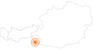 Ausflugsziel Wichtelpark Sillian in Osttirol: Position auf der Karte
