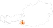 Webcam City of Lienz in East Tyrol: Position on map