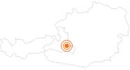 Ausflugsziel Relaxzone Seekarena und Seekarometer Zauchensee in der Salzburger Sportwelt: Position auf der Karte