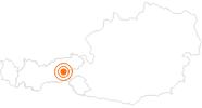 Ausflugsziel Fichtenschloss Rosenalm im Zillertal: Position auf der Karte